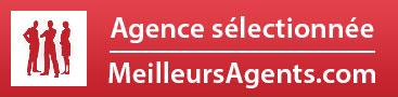 Agence sélectionnée par MeilleursAgents.com